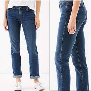 J. Jill weekender straight leg jeans size 16